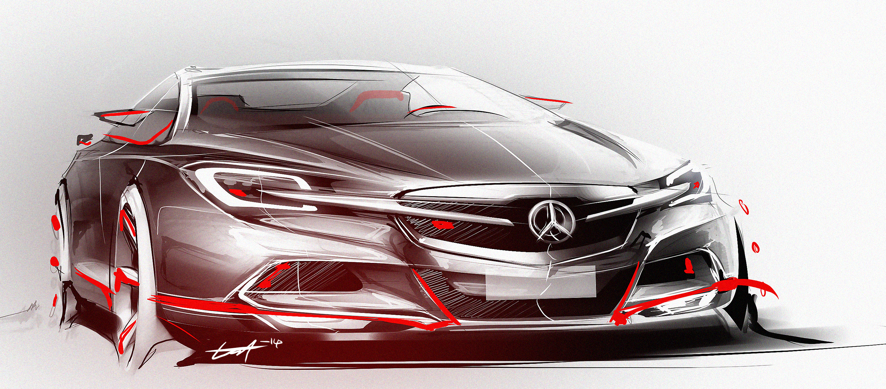 Mercedes Benz Sports Car Concept By Whitesnake16 Mercedes Benz Sports Car  Concept By Whitesnake16