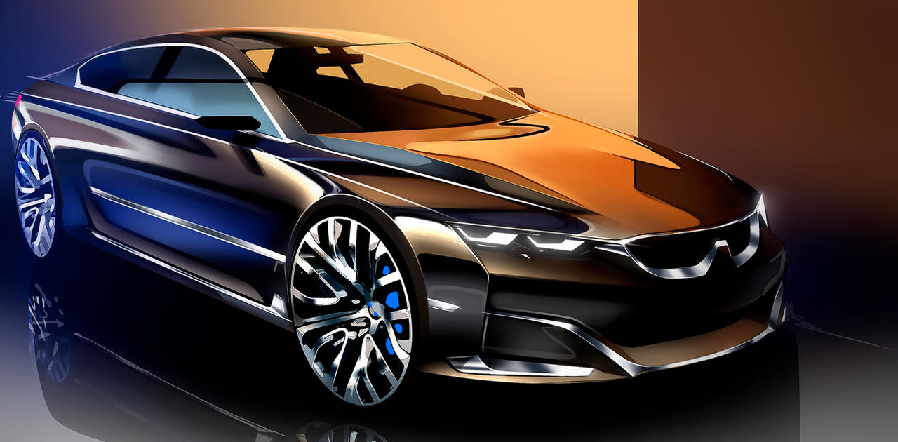 Bmw Sedan Sketch By Whitesnake16 On Deviantart