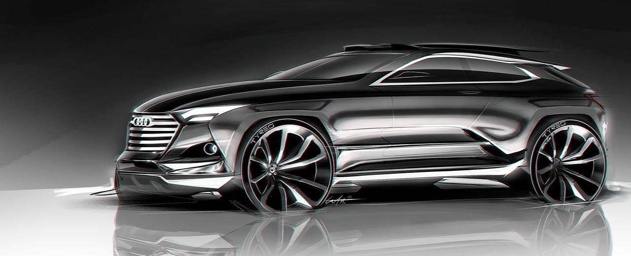 Audi Suv Concept By Whitesnake16
