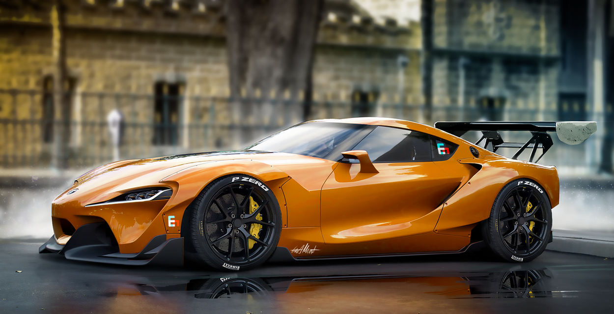 Toyota FT1 Widebodykit by Whitesnake16 on DeviantArt