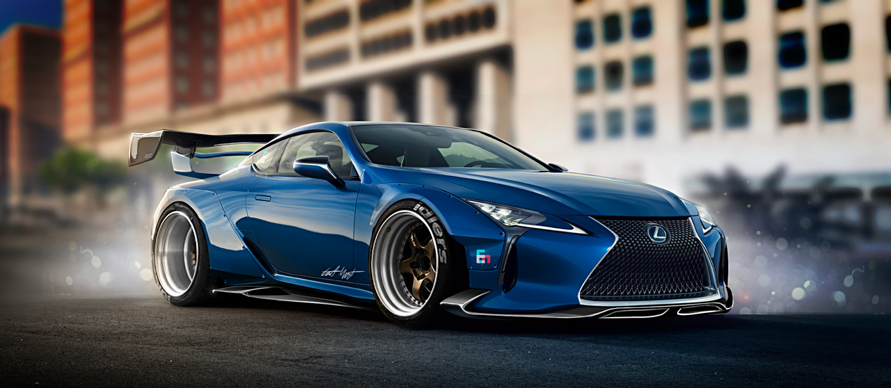 Lexus Lc 500 Widebody Kit By Whitesnake16 On Deviantart