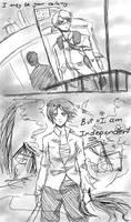 Sketch: I shall return