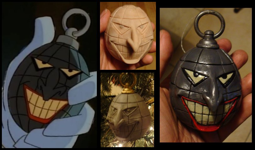 Joker Hand Grenade by 4thWallDesign