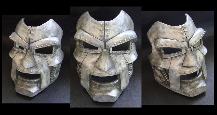 how to make dr doom mask