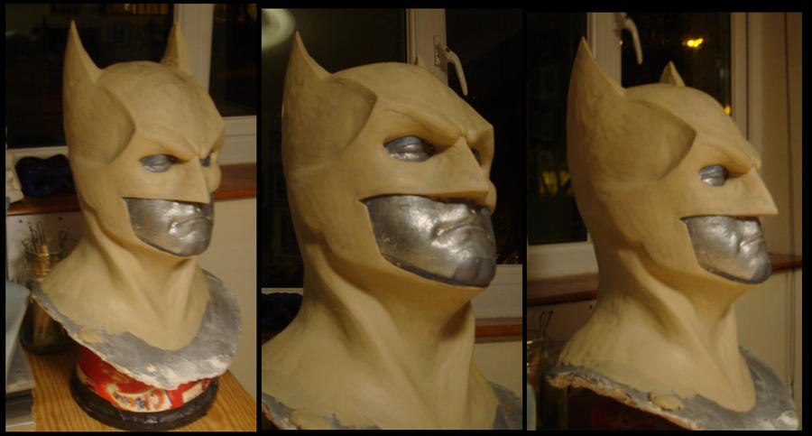 Batman Cowl - W.I.P by 4thWallDesign