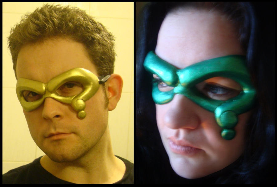 Question Riddler Mask By 4thwalldesign On Deviantart