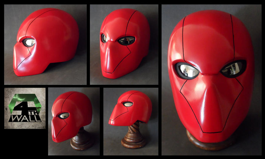 Red Hood Helmet - FINISHED by 4thWallDesign