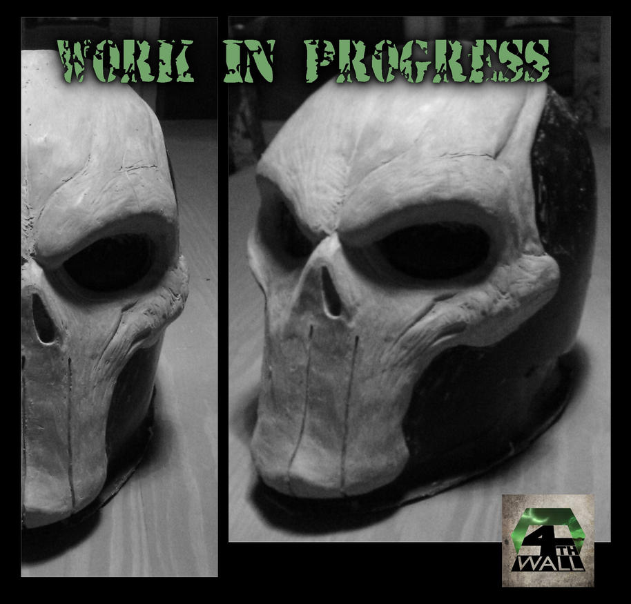 Death Helmet W.I.P by 4thWallDesign