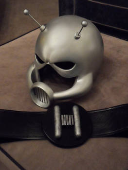 Ant Man helmets and Belts available