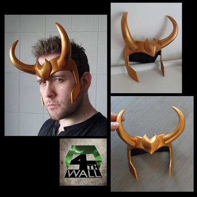 Kid loki crown  by 4thWallDesign
