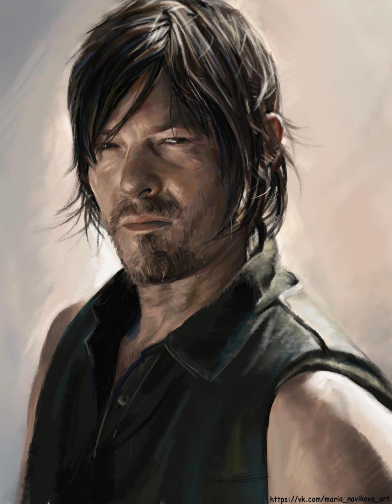 Daryl Dixon by MariaNovikova