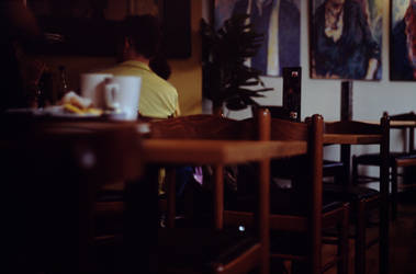 Oxford cafe