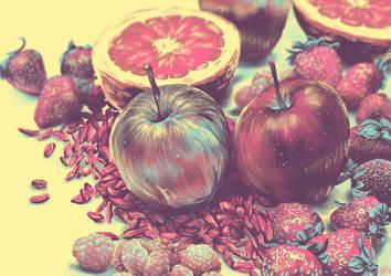 Stranges fruits by Lotos4Blossom