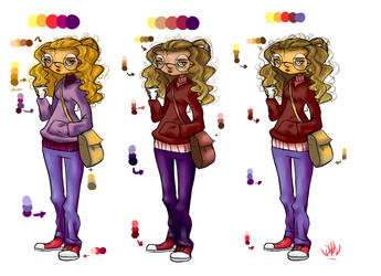Finding color for Cannelle by Lotos4Blossom