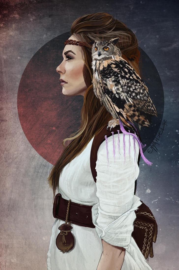 Lady Owl by manu4-20-5