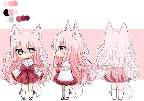 ADOPTABLE 1- Fox girl (OPEN)
