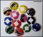 .:Power Rangers badges:.