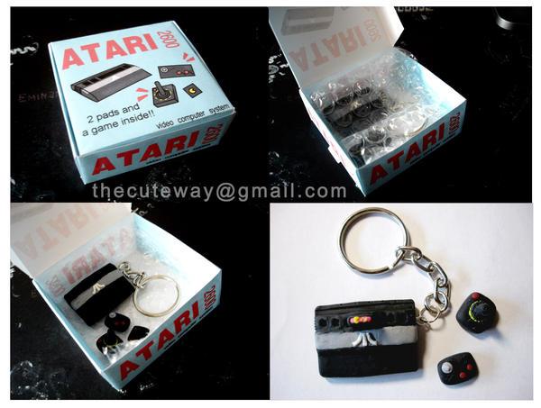 .:Atari keychain:. by SaMtRoNiKa