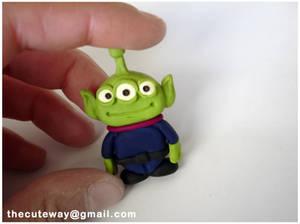 .:ToyStory Alien:. sculpey