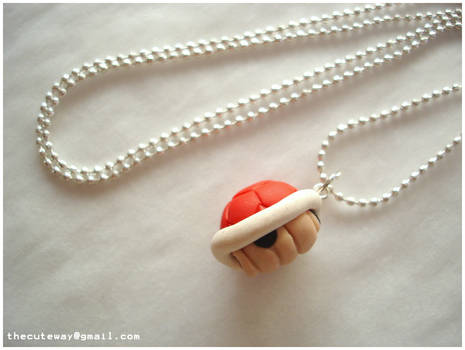 .:Mario shell necklace:.