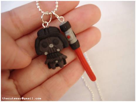 .:Darth vader necklace:.
