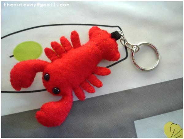 .:Lobster keychain:. by SaMtRoNiKa