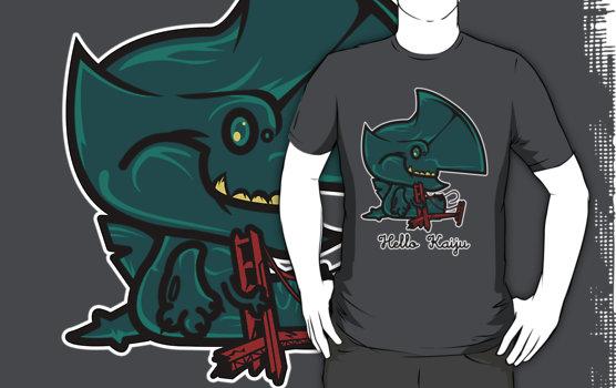 Hello Kaiju by SaMtRoNiKa