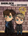 Sherlock and Watson (bbc)