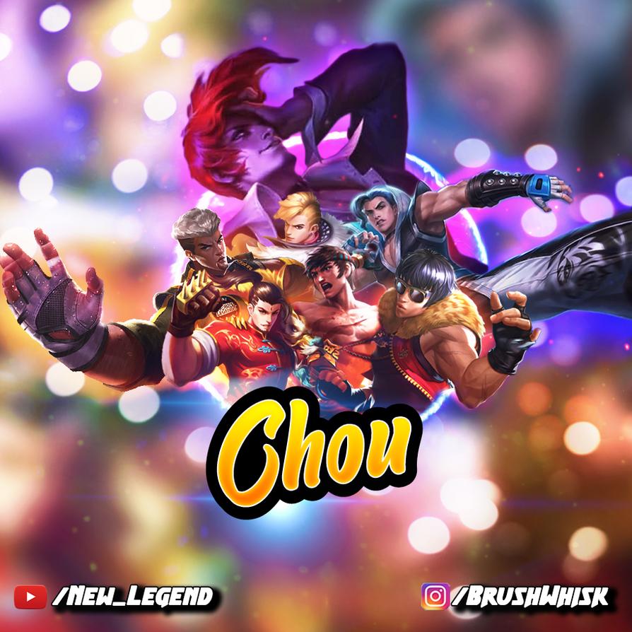 All Of Chou S Skins In Mobile Legends Bang Bang By Brushwhisk On Deviantart