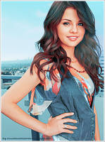 Selena Gomez Retouch by missillusionworld