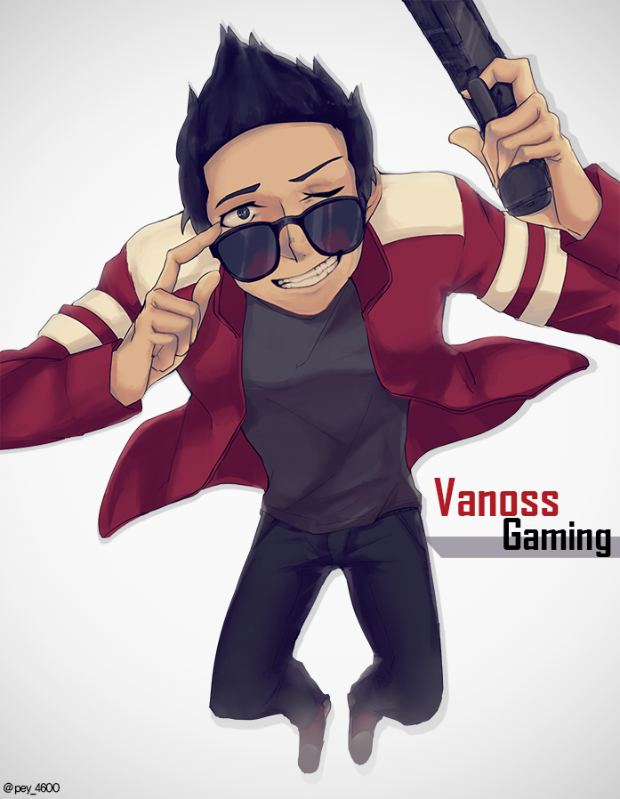 VanossGaming by Rainkim on DeviantArt H20 Delirious Fan Art