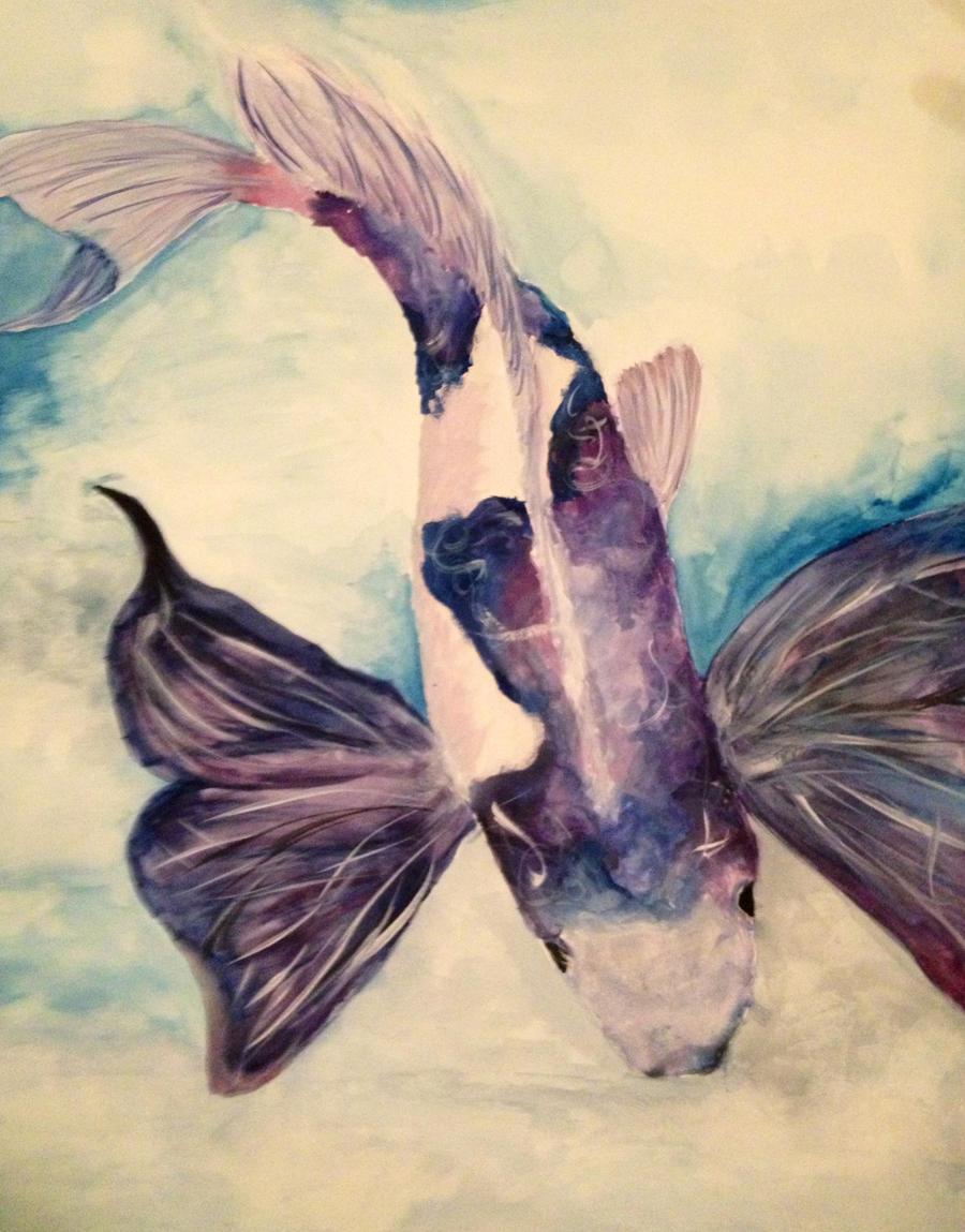 Butterfly Koi By Chromareverie