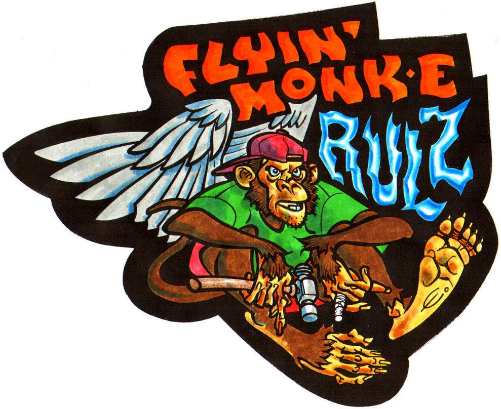Flyin' Monk-E Rulz by EJJS