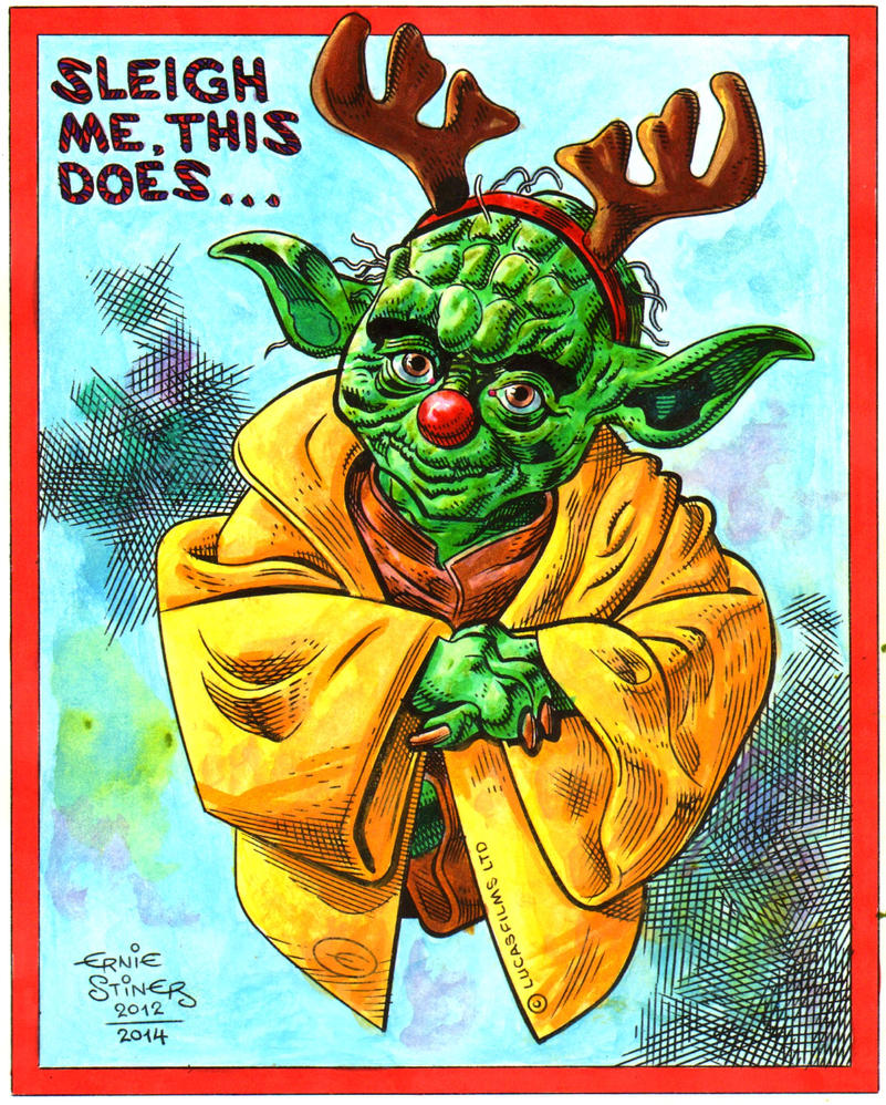 Yoda-Sleigh me, this does by EJJS