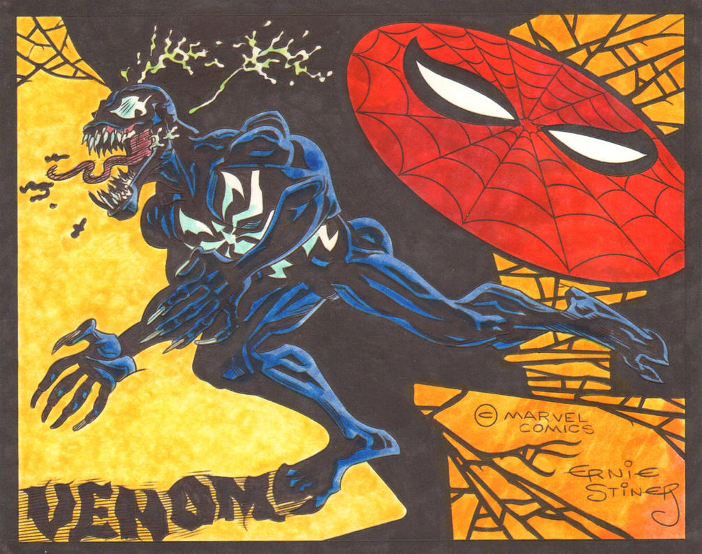 Venom and the Spider by EJJS