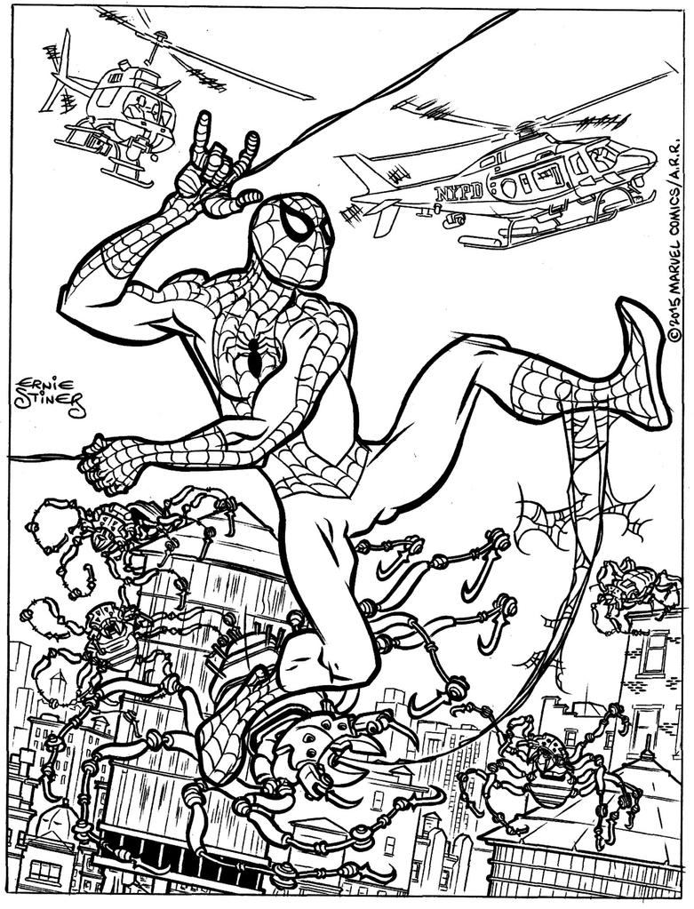 Spider-Man Spider-Bots by EJJS