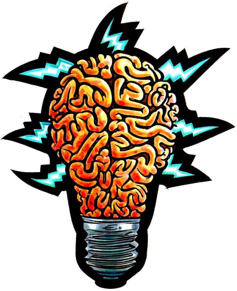 Brain Bulb by EJJS