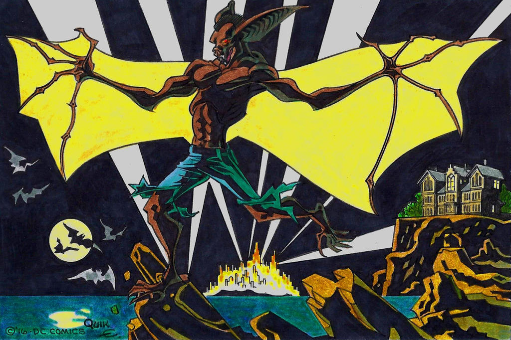 Man-Bat by EJJS
