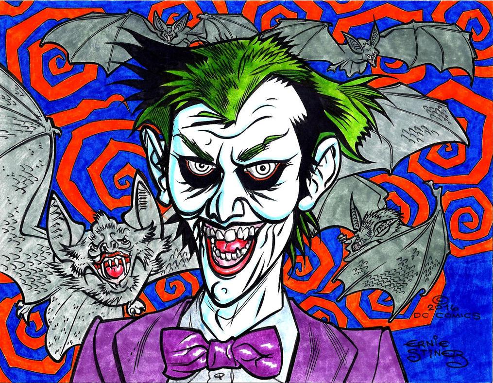 Joker-Going Batty COLOR by EJJS