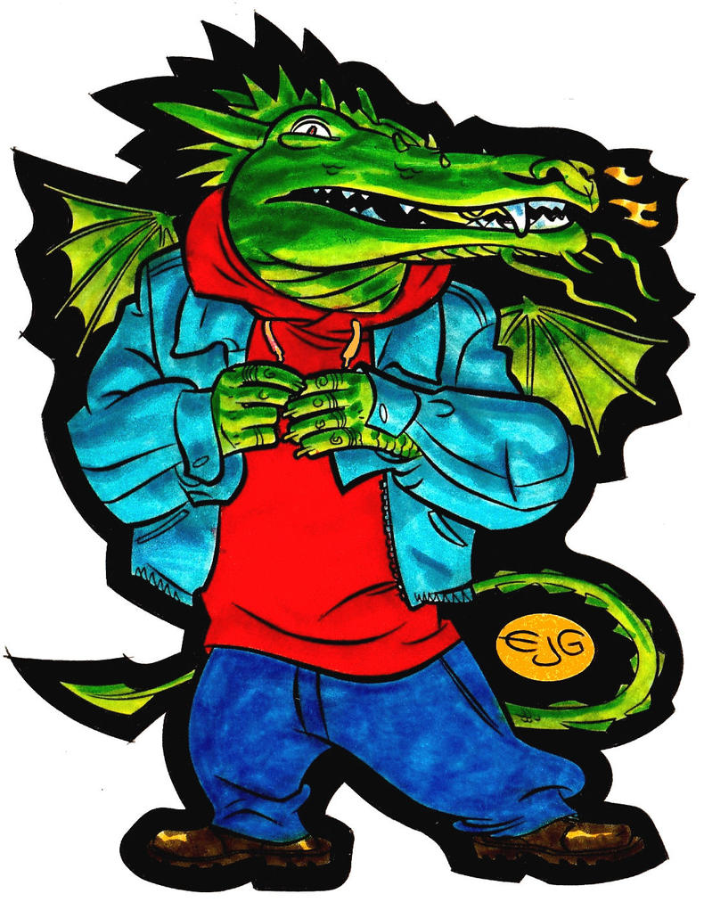 Hip Hop Dragon by EJJS