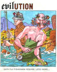 evilUTION-Goth Fisherman