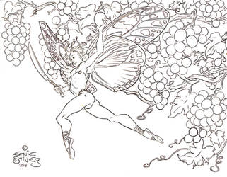 Butterfly Fairy - Grapes