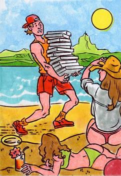 Island Dreams-beach pizza delivery