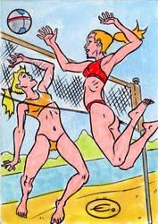 Island Dreams-beach volleyball