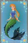 Mermaid Ursula from Heroine Maker