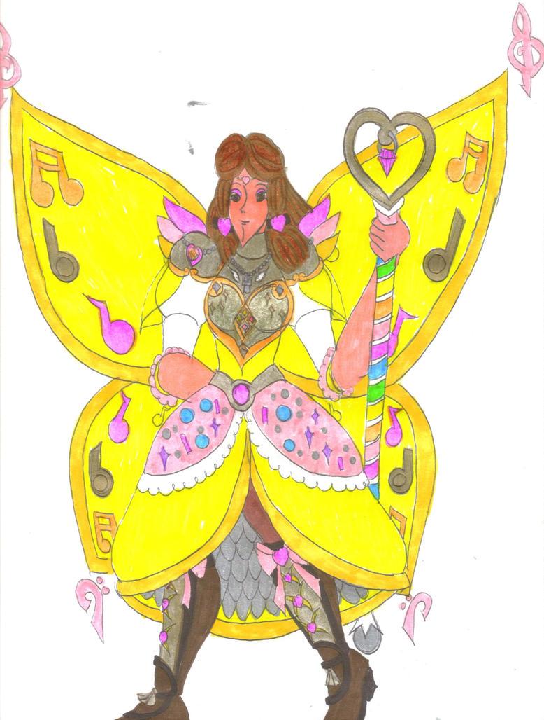 Fairy Knight Cythnia for DBCDude01 by Clipperwhiz1