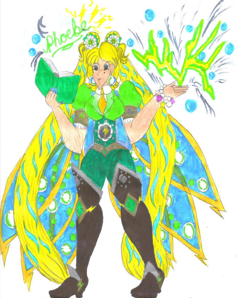 Storm Fairy Phoebe for DBCDude01 by Clipperwhiz1