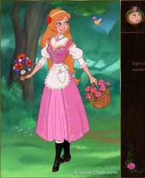 Ariel Fairytale Maiden Virtual Doll