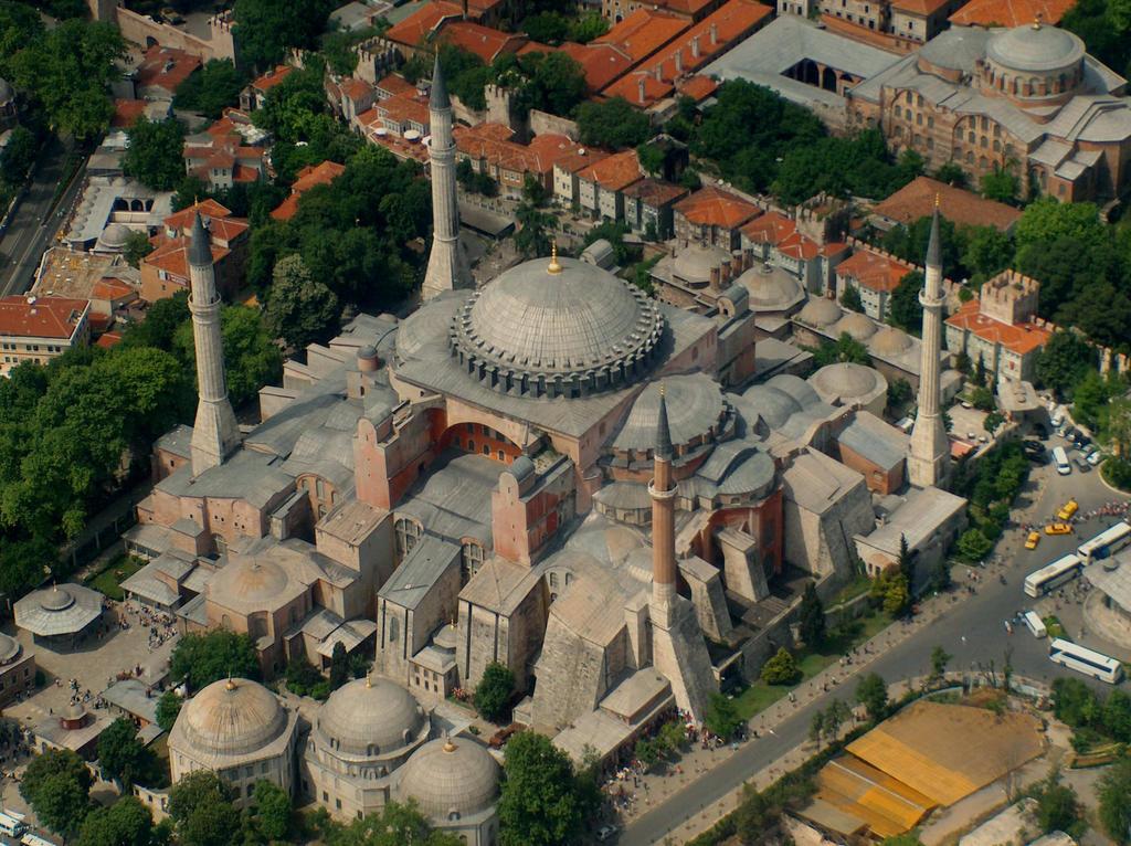 Hagia sophia dome exterior