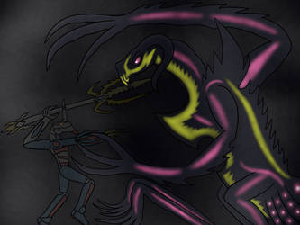 The Meteor Hero and the God of Antimatter by BlazerAjax220